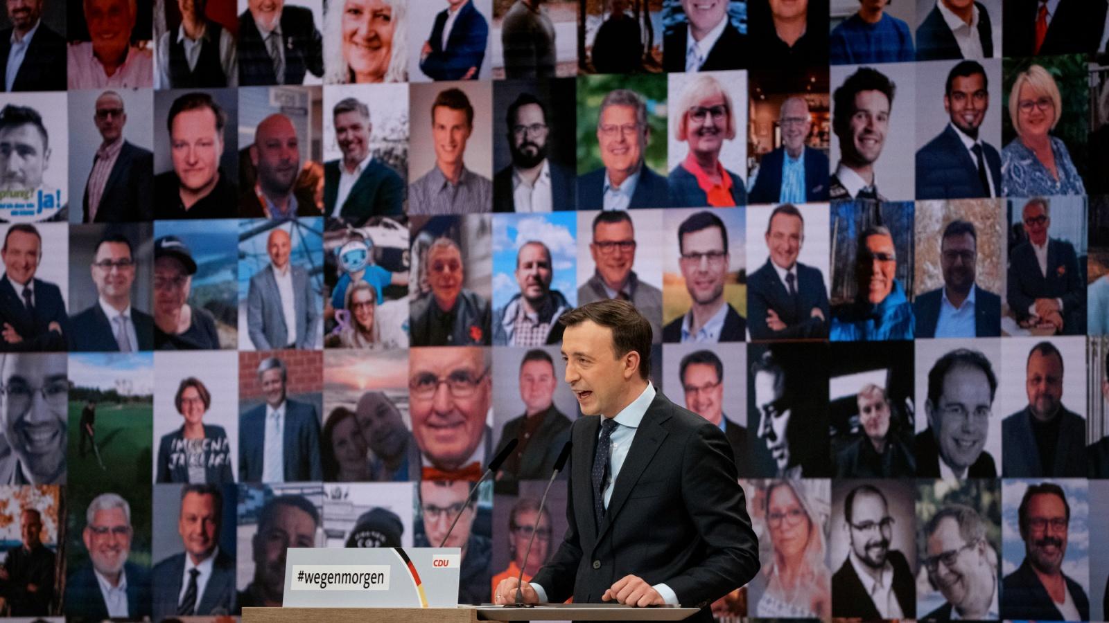 CDU-Generalsekretär Paul Ziemiak auf dem CDU-Parteitag
