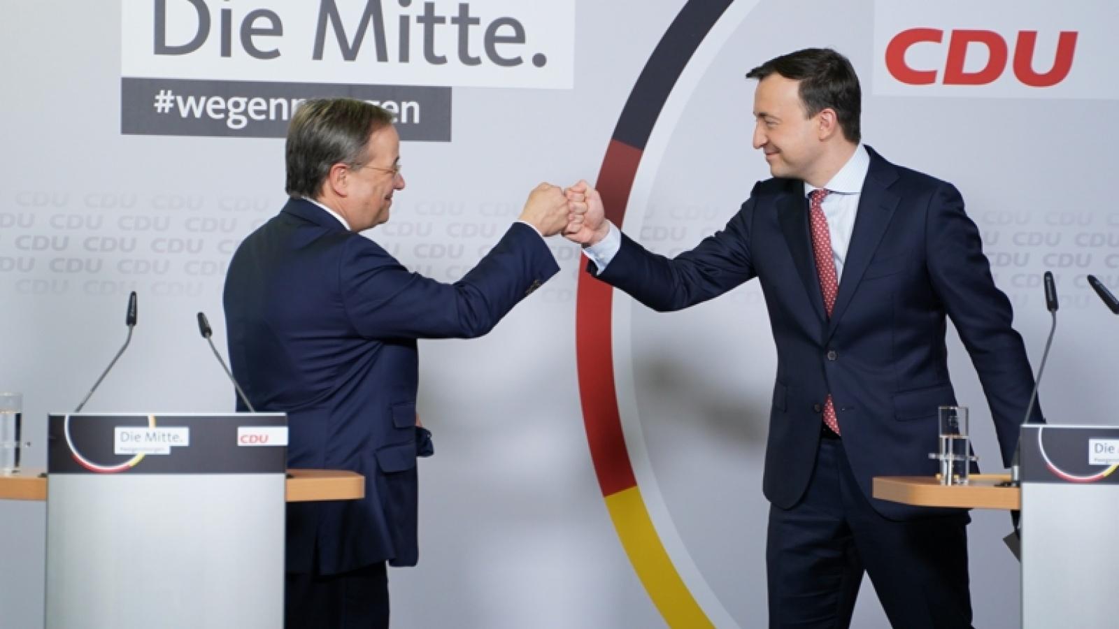 Geschafft: Mit dem vorliegenden Briefwahlergebnis ist Armin Laschet nun offiziell Vorsitzender der CDU Deutschlands