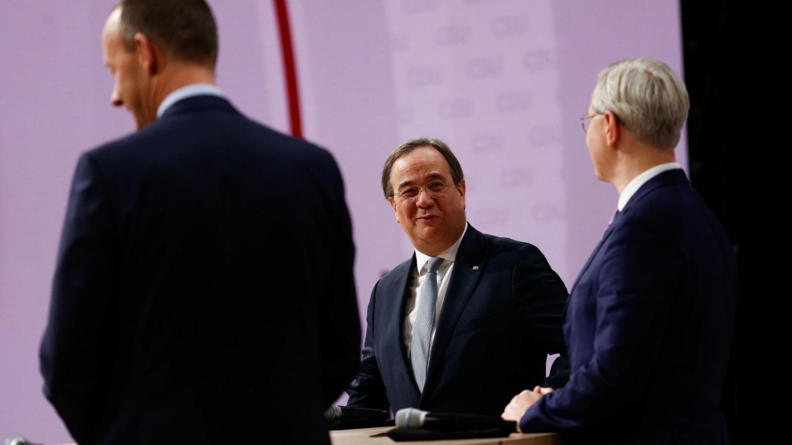 Armin Laschet geht als Sieger aus der spannenden Wahl zum CDU-Vorsitz hervor